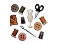 Botones de motivos de costura