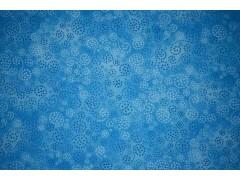 tela azul con espirales