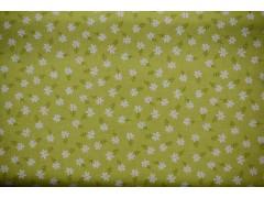 tela de flores verdes
