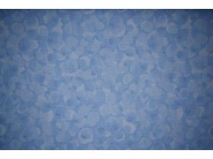 tela azul clara con circulos