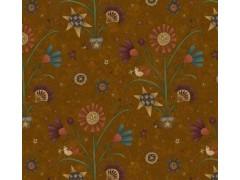 Tela macetas marrón